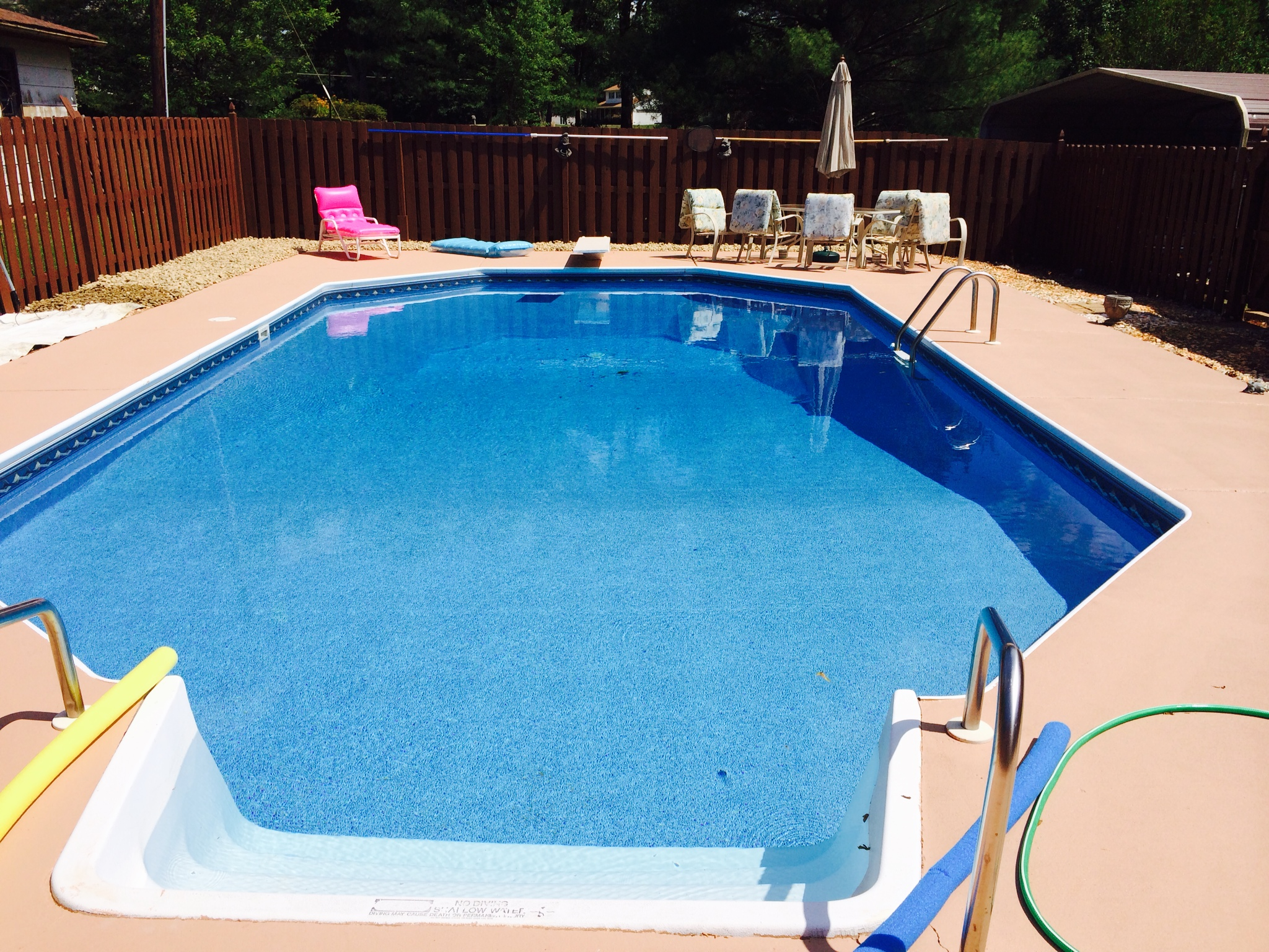 Inground Pools Above Ground Pools Outdoor Living Pool
